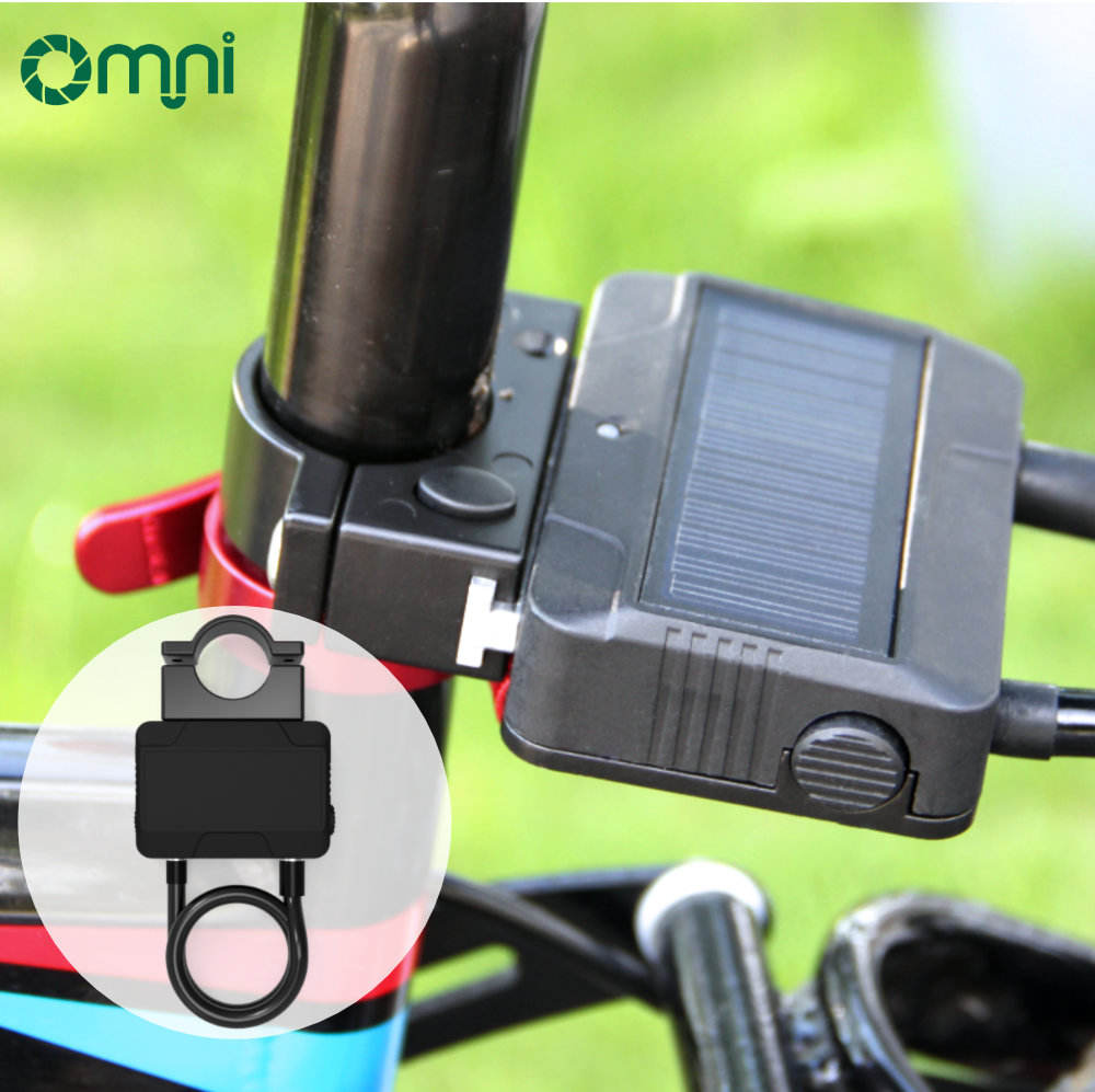 bike use cable locks retractable cable lock scooter bike Double protection USB cable locks