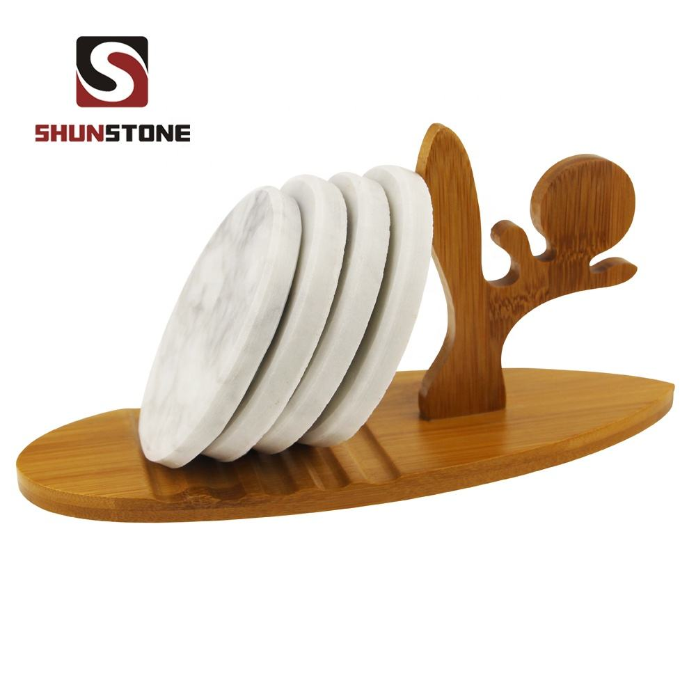 Marble home accessories/Nature luxury cup mat/Nature marble coster
