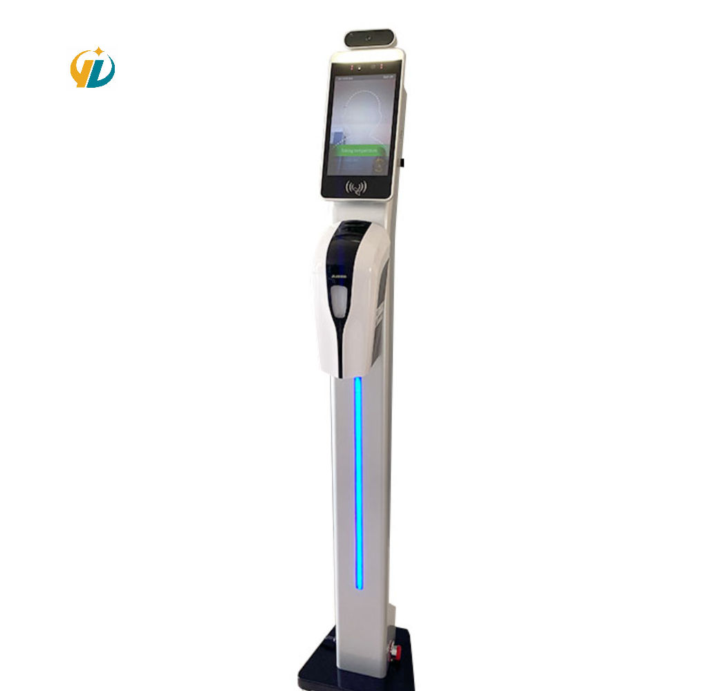 New Style Human Body Temperature Scanner Intelligent Detection Of Human Body Temperature With Hand Sanitizer Container