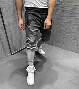 3D Gradient Printing Quick Dry Fitness Training Gym Workout Casual Men Jogger Pants