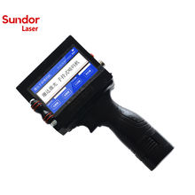 Sundor Handheld Continuous Inkjet Date Code Printer Easy To Operate/Inkjet Printing