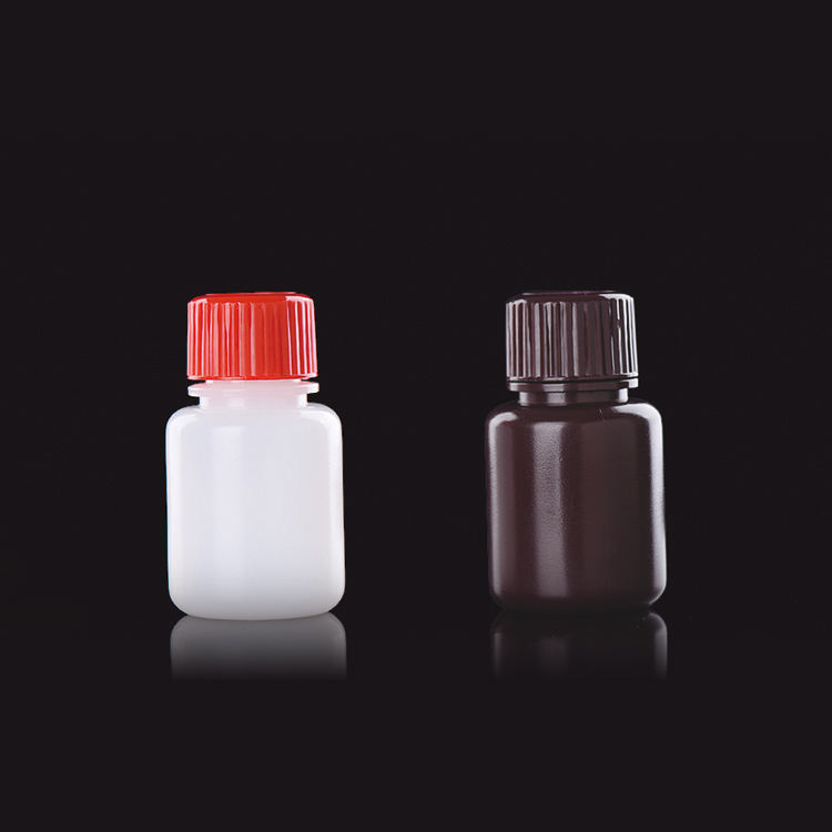 Screw Cap [ Disposable Plastic Bottle ] Disposable Plastic Bottle 25ml Disposable Empty Plastic Pill Bottle