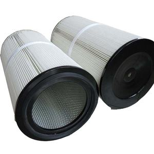 Hoge efficiëntie hepa filter/poeder coating cilinder air dust filter cartridge