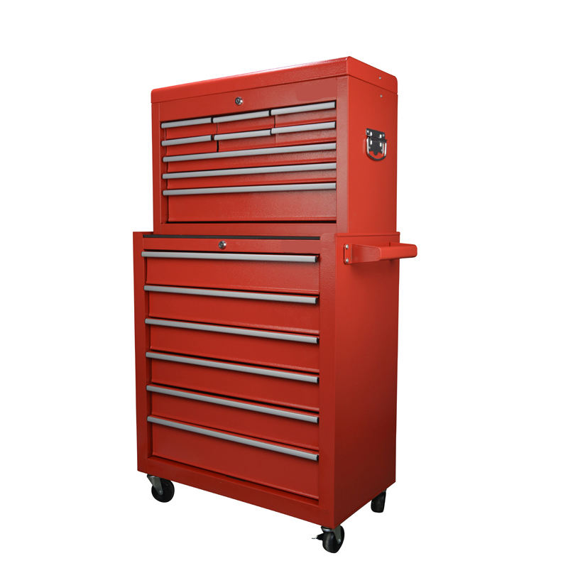 Tool Box Roller Cabinet Steel Chest 15 Drawers Workshop