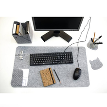 High quality 3mm felt material custom office felt desk pad with low price