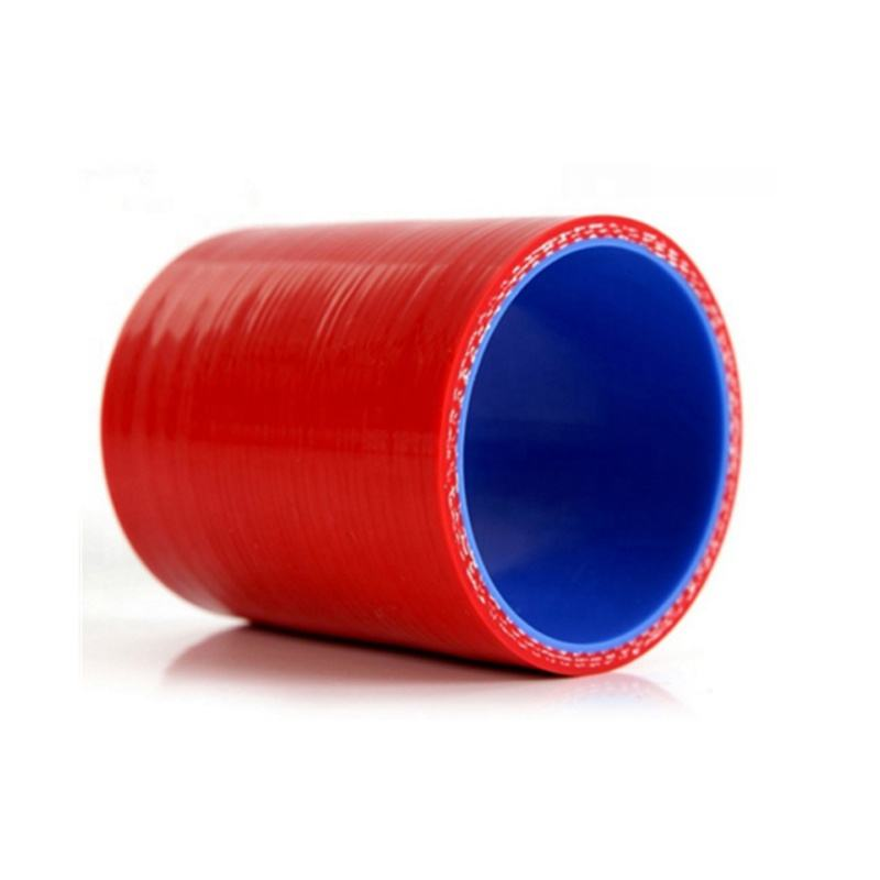 "high car performance Straight Silicone Hose 3"" 76mm Black Red Blue Intercooler Coupler"