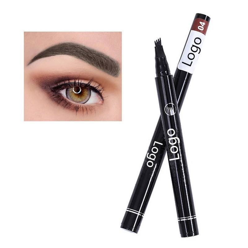 Private Label Liquid Eyebrow Tint Pigment Tattoo Pencil Waterproof Eyebrow Liner