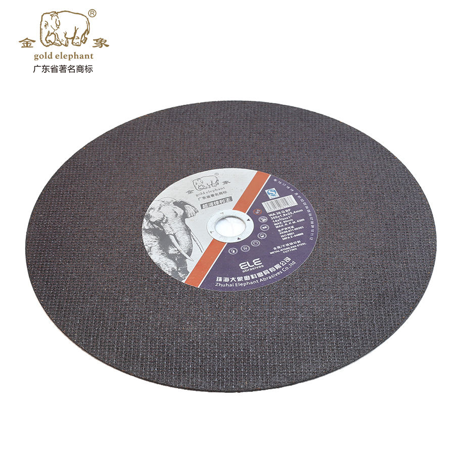Dish Chinese Manufacture 14 Inch 355mm Sharp Cutting Wheel for Iron