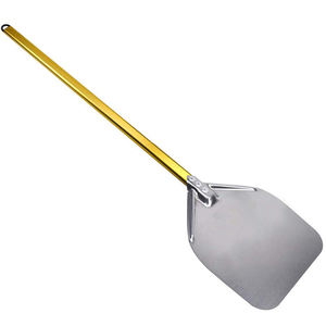 12 Inch Kitchen Golden Pizza Peel Stainless Steel for Oven Long Handle Pizza Shovel Pizza Paddle