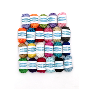Environmental Protection Hot Popular Colors Fingering Knitting Yarn Smooth Woolen Cotton Bamboo Yarn