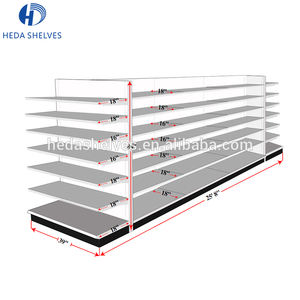 Double Side Gemak Store Display Plank/Rack Gondel Rekken