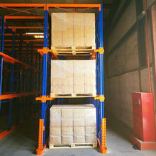 push back drive in pusher mobile racking system for rack shelf shelves