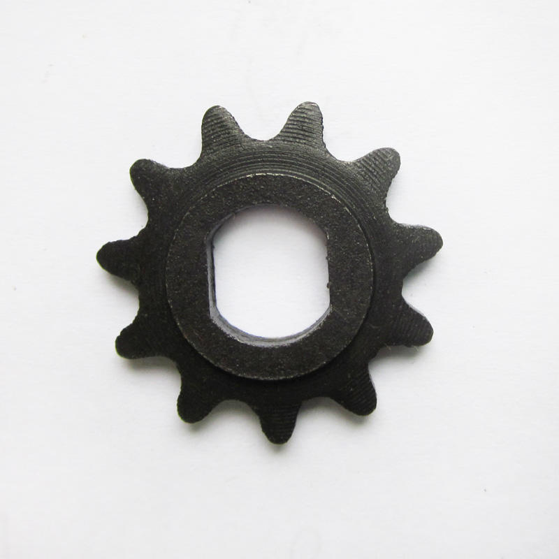 11 Tooth Sprocket Motor Pinion Gear 10mm Double D-Bore for 25H Chain Electric Scooter Parts