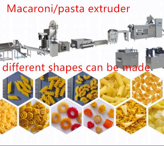 Wholesale high quality pasta macaroni making machine