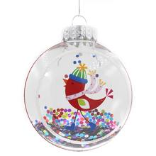 Clear Plastic Christmas Ornament Balls