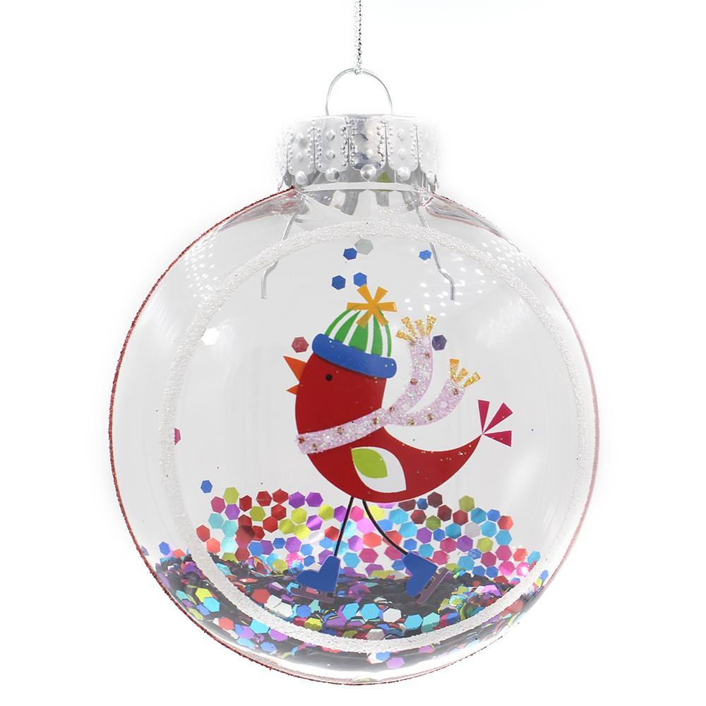 Clear Plastic Ornament Ballen