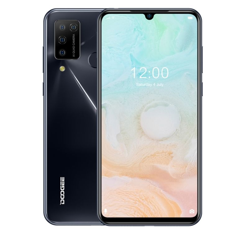 Hot Koop Doogee N20 Pro 6Gb 128Gb 6.3 Inch Waterdrop Notch Screen Android 10.0 MTK6771V/Ca Helio p60 Octa Core 4G <span class=keywords><strong>Mobiele</strong></span> Telefoons
