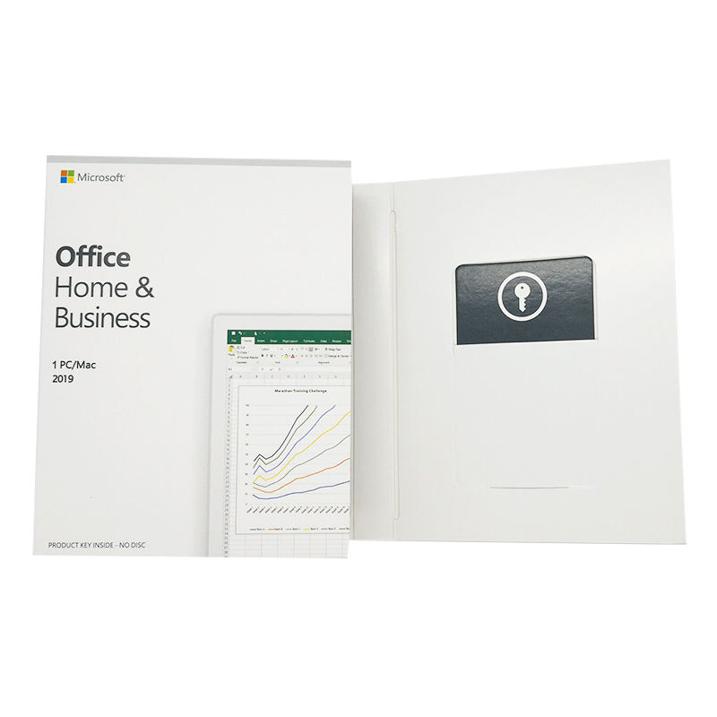 Free shipping Microsoft Office 2019 Home & Business Key Card for Mac/ Windows