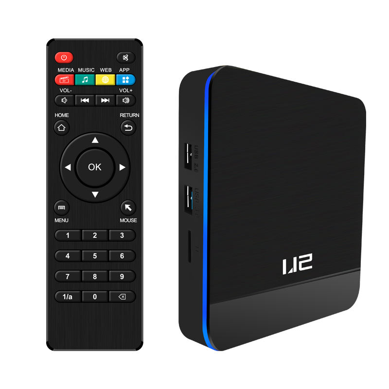Xangshi custom new firmware amlogic s905x3 4+64GB 2.4g wifi usb2.0 android 9.1 Internet Tv box Caja de TV
