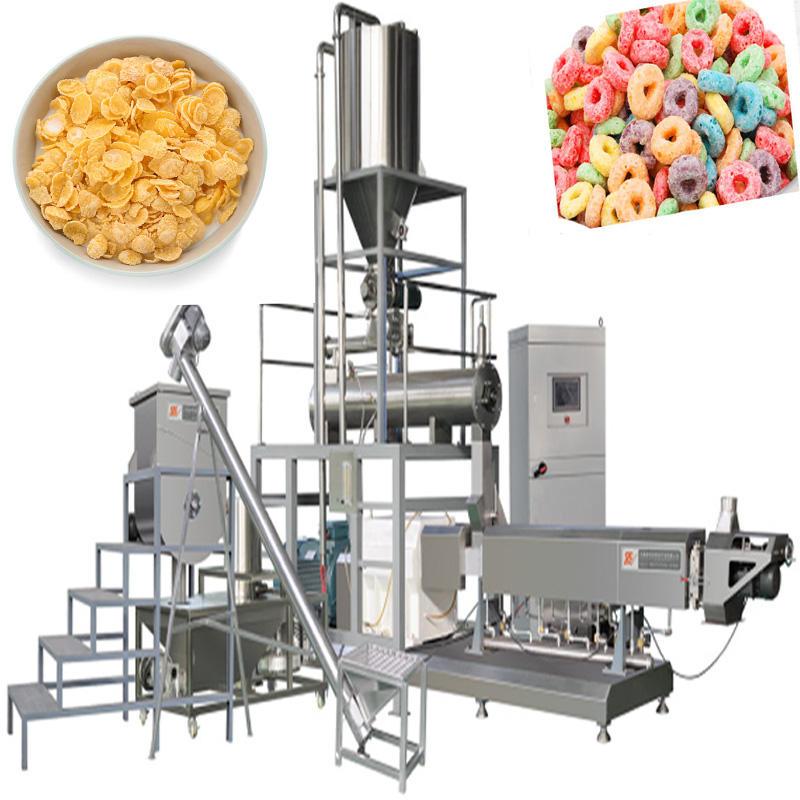 Saibainuo Automatic Machine To Make Corn Flakes Breakfast