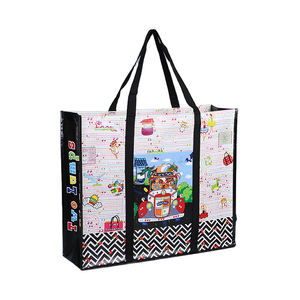 Eco-friendly Wholesale Manufacturer Direct Sale Recyclable PP Laminated Non Woven Nonwoven RPET Shopping Tote Bags