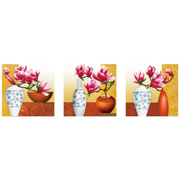 Flower Cut 5D Painting Handmade Craft Home Decor Cross Stitch Full Drill Diamond Painting Kit