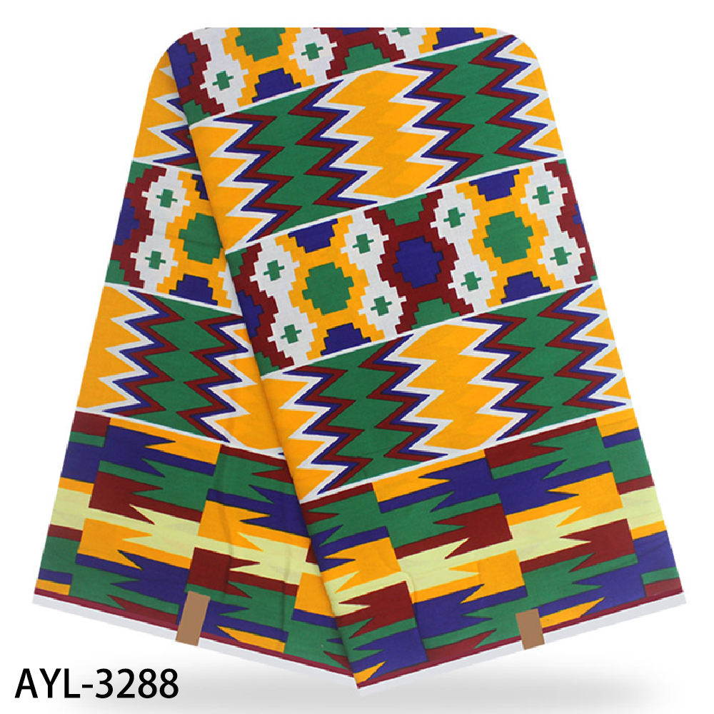 Hot 2020 african wax 100% cotton available ankara fabric kente wax print fabric