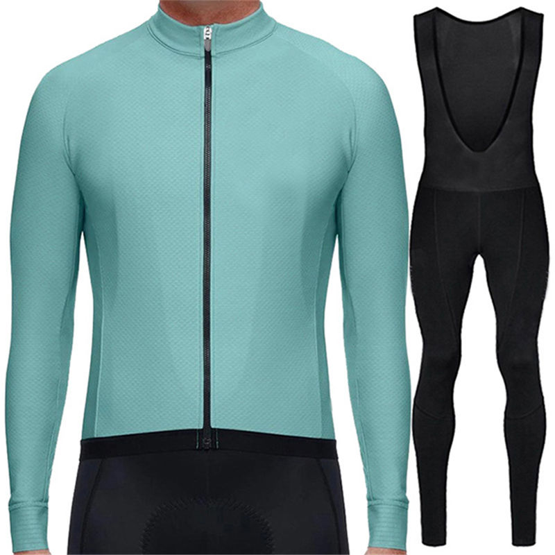 good quality cycling wear custom long sleeve cycling jersey set