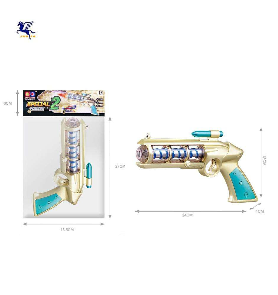 toy guns Lights Blaster Laser Sound Ray gun
