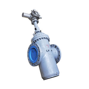 WZLD Pneumatic actuated WCB flange knife gate valve