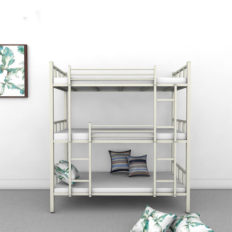 Best choice customized durable good quality steel dormitory durable metal triple bunk bed