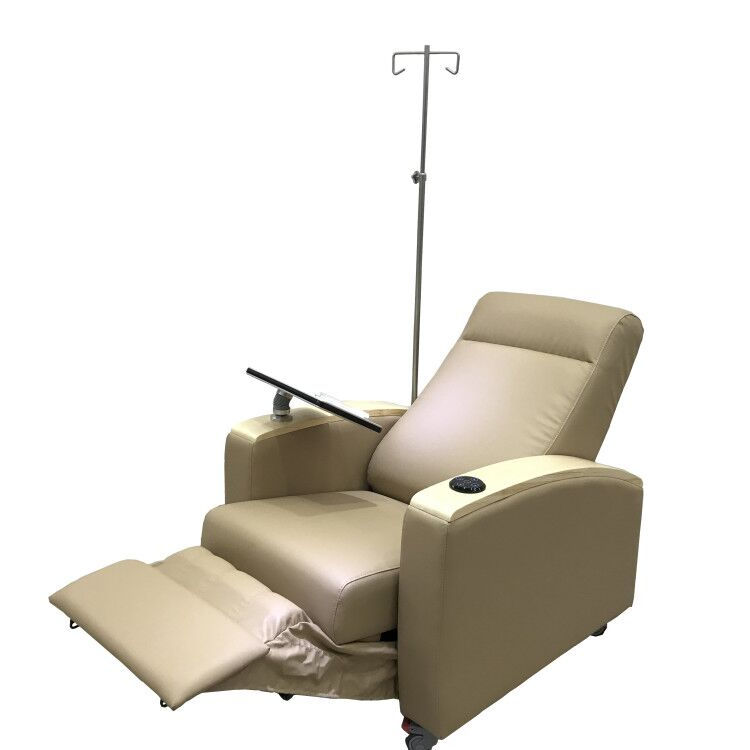 ISO 9001 High quality competitive price manual Hemodialysis treatment chair with writing board for hospital