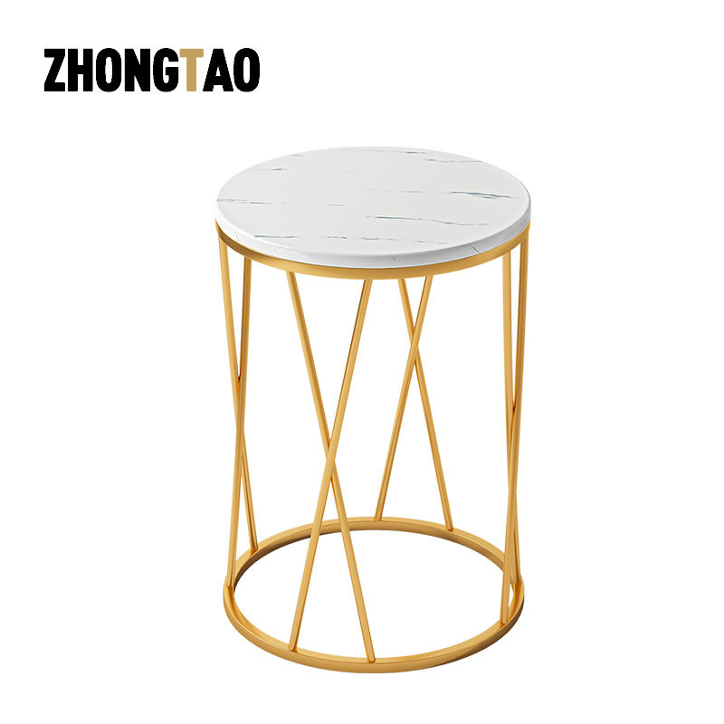 Modern Metal Geometric Golden Gold Steel Stainless Style Living Coffee Room Lounge Table Side end table
