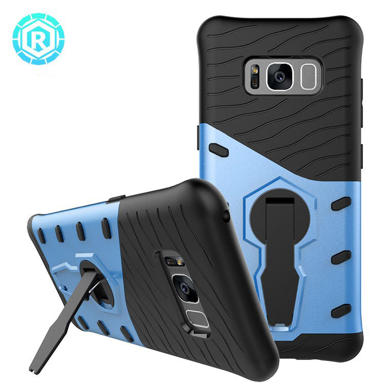 Case for Samsung Galaxy S8 TPU Case 360 Degrees Kickstand Case Factory Wholesale Phone Cover