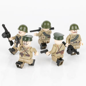 822 Building Blocks Military soldier Minifigures Decoration Toys Gifts 8PCS