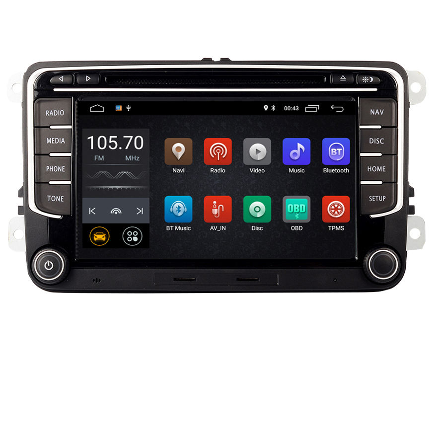 RNS 510 Android 10,0 Auto-DVD-Spieler für VW golf 5 6 Touran Passat B6 CC Jetta polo Tiguan Magotan radio GPS Multimedia-Player