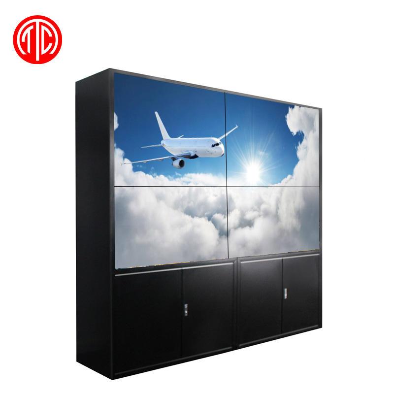 55 pollice schermo video wall display a cristalli liquidi TV con senza soluzione di continuità schermi <span class=keywords><strong>lcd</strong></span>