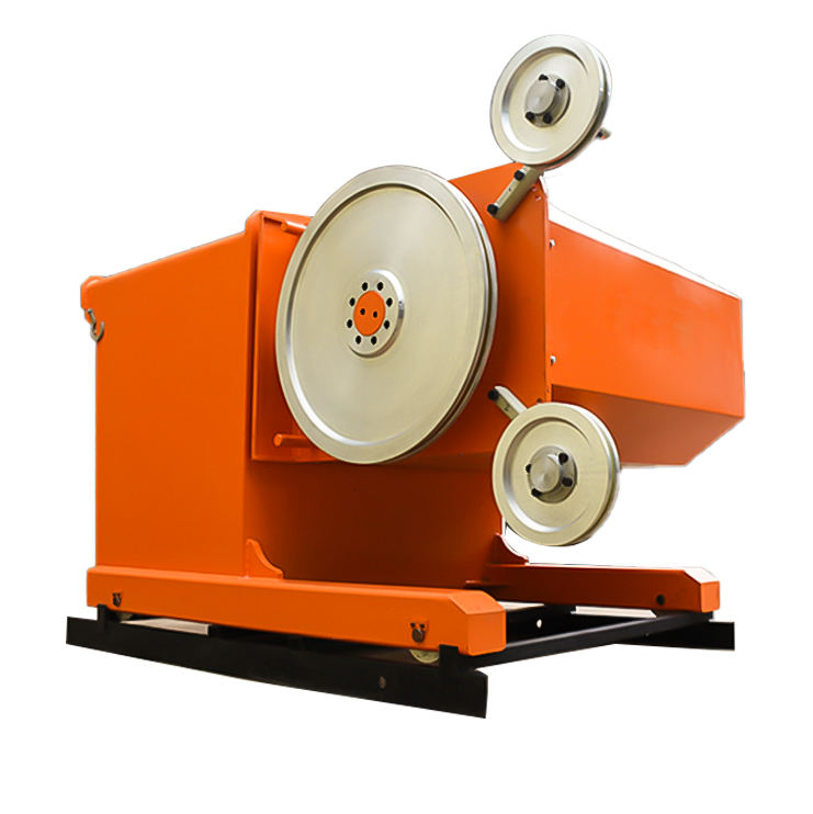 Wire Saw Machine for Block Squaring Stone Cutting