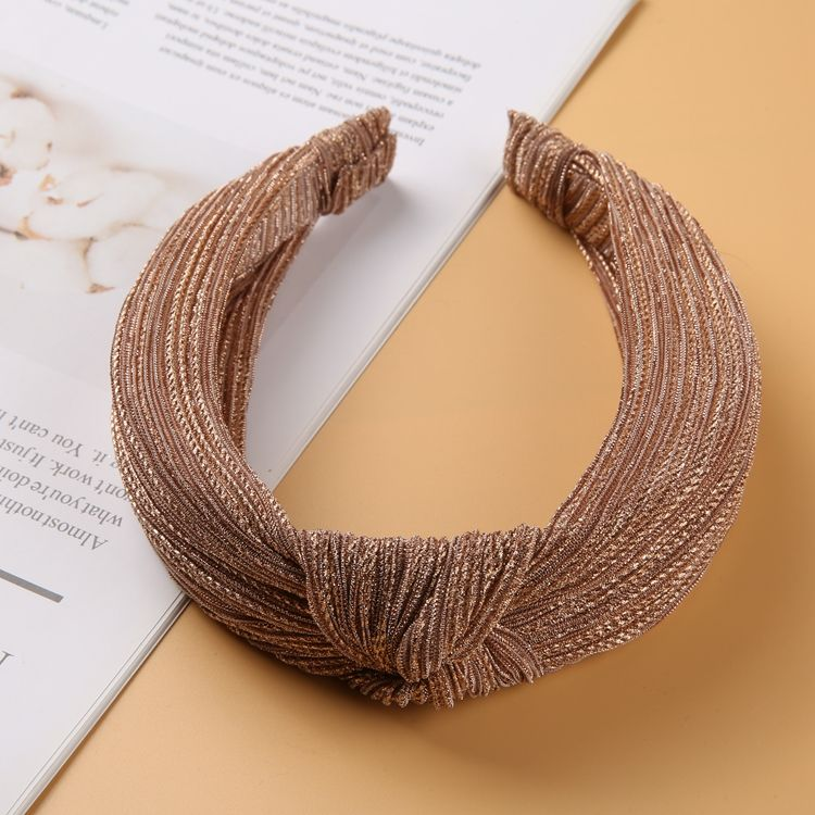 Accessories Girl Hair Custom Band Wide Big Headband Non-Slip Simple Student Wash