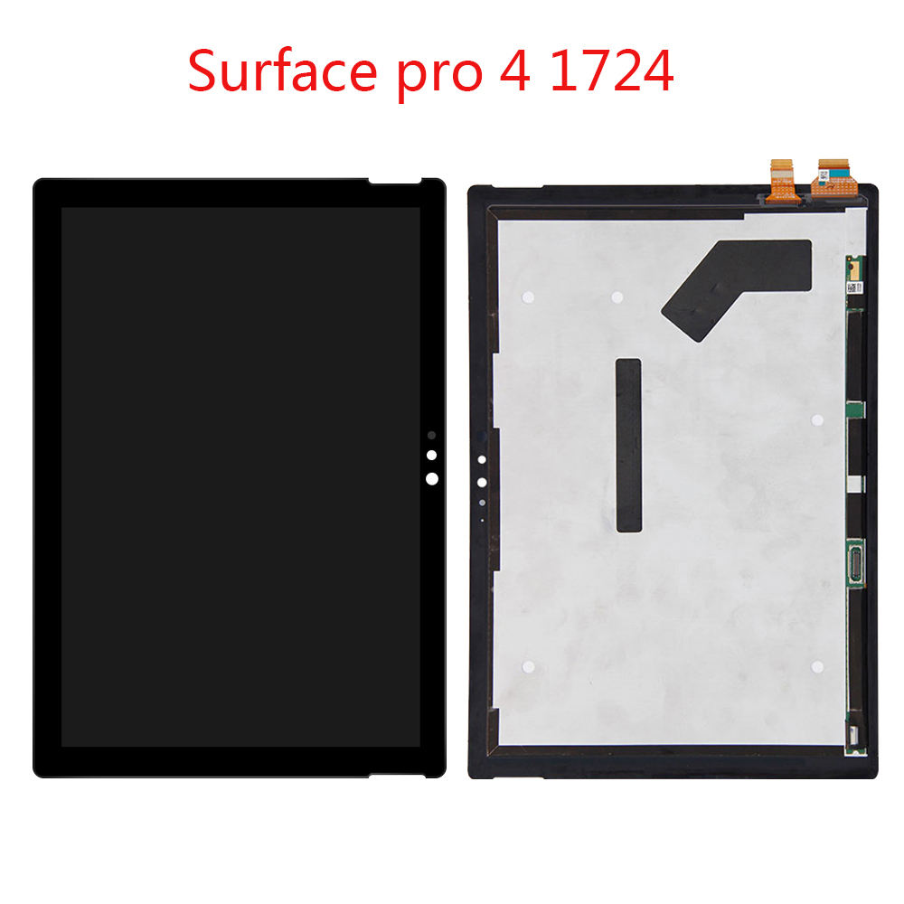 Wholesale Table LCD Display For Microsoft Surface Pro 1 2 3 4 5 Pro3 1631 1796 1724 1601 1514 Replacement LCD Touch Screen