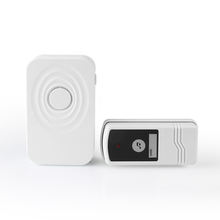 Music door bell for apartment with wireless waterproof transmitter