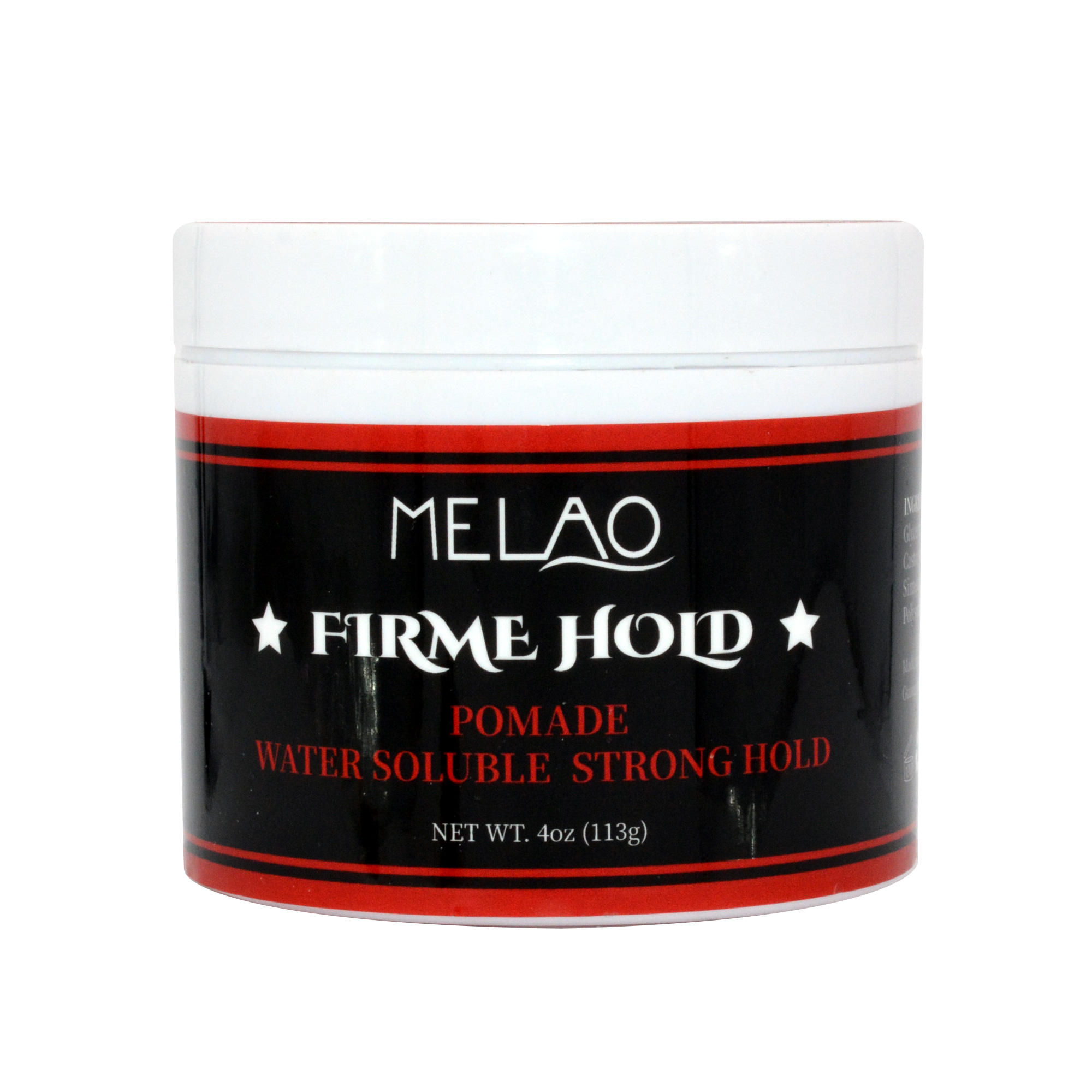 strong hold glow in the dark private label for growth women custom own halal with vitamin e organic Hair wax pomade