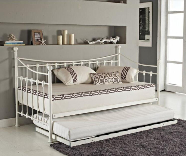 Wholesale King Single Folding Metal Iron Day Bed