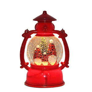 Indoor Christmas Decoration Led Lantern Christmas Glitter Lamp Party christmas table topper decoration