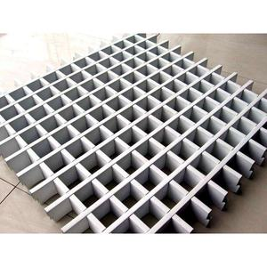 Sheet Metal Parts Abnormal Shape Aluminum Grid for Building Facade Curtain Wall