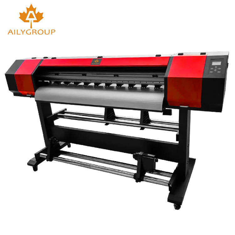 Small Size 1.3m width eco solvent printer with single print head for sale