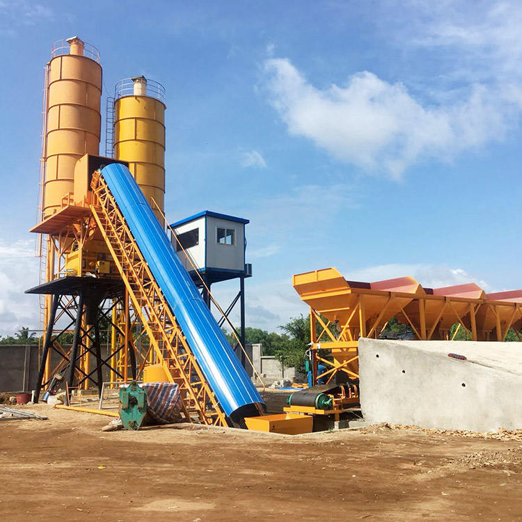 Mobile readymixed concrete mixing plants in egypt for sale