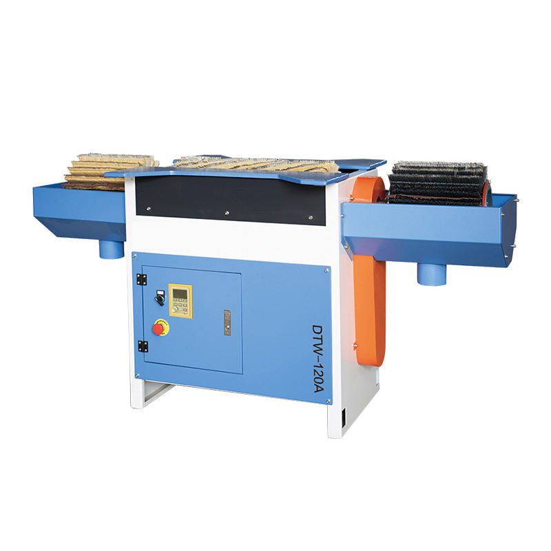 Automatic woodworking mdf wood door belt brush sanding machine furniture sanding machine