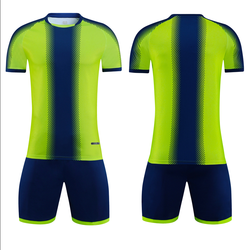 Personal custom sublimated unisex soccer jersey set