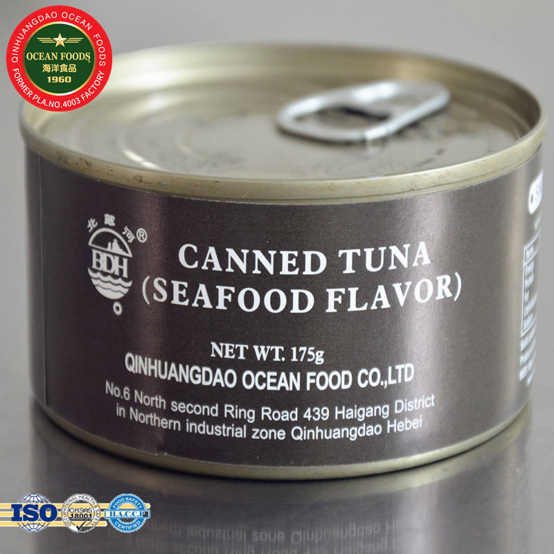 White meat tuna tinned tuna in seafood sauce